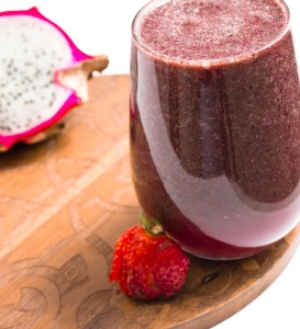 Exotic Dragon Fruit Smoothie