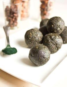 Spirulina Protein Energy Bliss Ball