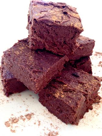 egan Sweet Potato Brownies