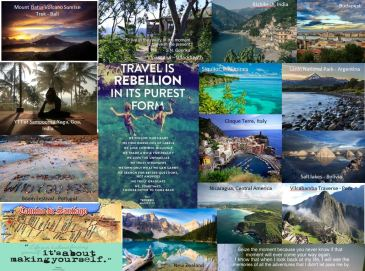 Travel Vision Board
