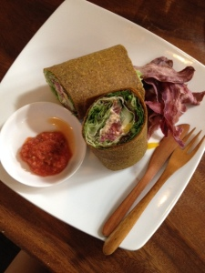 Vege Wrap from The Seeds of Life