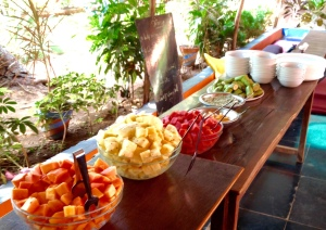 Buffet Breakfast at Sampoorna Yoga