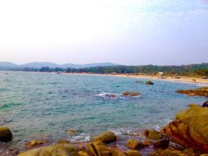Morning run at Agonda Beach