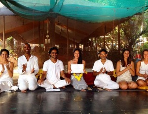 Graduation ceremony at Sampoorna Yoga