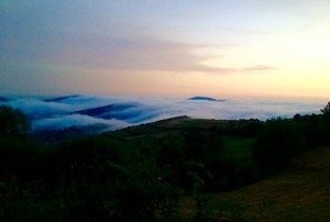 Sunrise on the Camino De Santiago