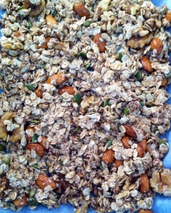 Sugar & Spice and Everything Nice Vegan Granola
