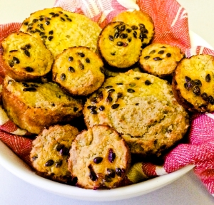 Passionfruit, Pineapple, Banana and Ginger Muffins